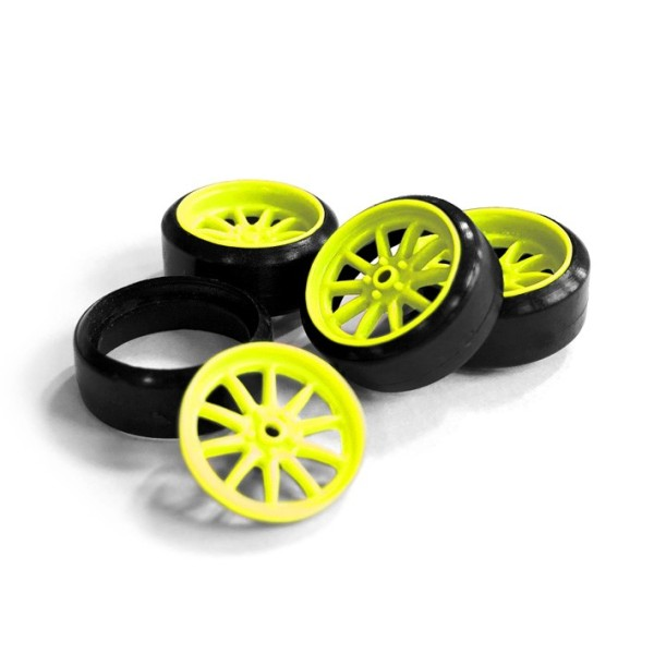 Felgen F10 - Neon Gelb