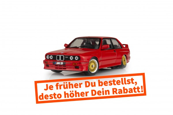 BMW E30 M3 - Brilliant-Rot